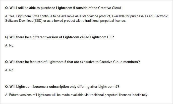 Adobes Versprechen in einem Blog am 06.05.2013 als Screenshot