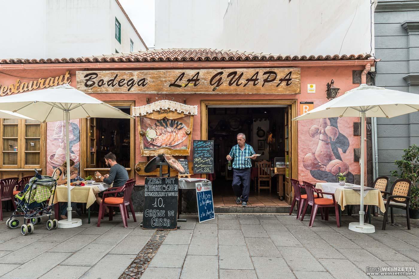 Die Bodega la Guapa in der Calle Puerto Viejo.