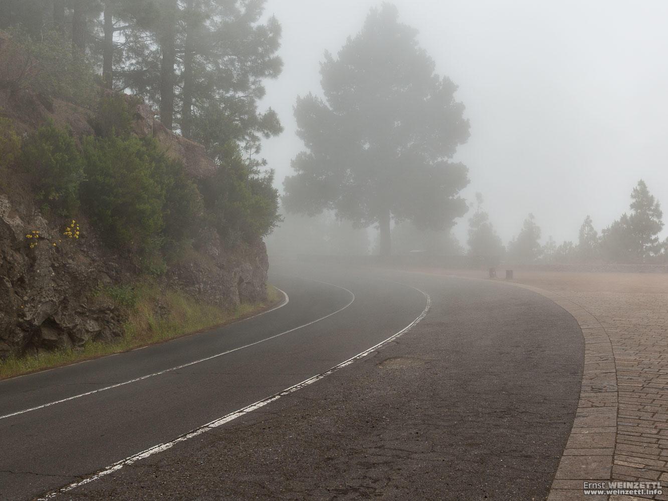 Nicht Nebel, nein Wolken.