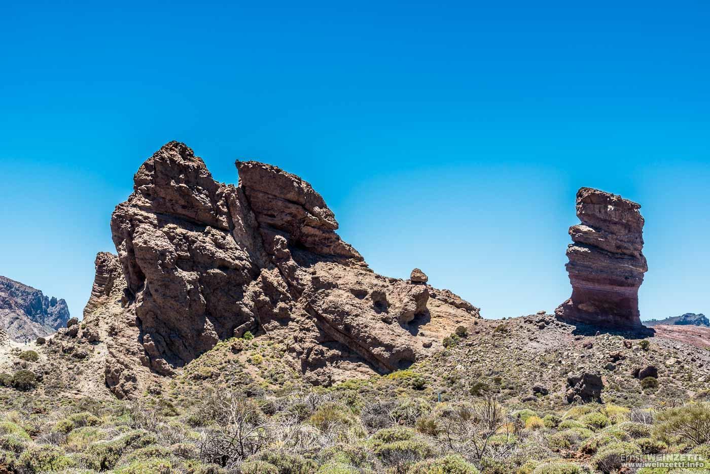 Eine der bekanntesten Formationen der Roques de García.
