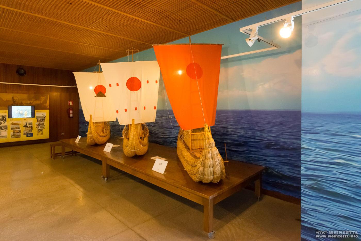 Thor Heyerdahls Schiffe dürfen nicht fehlen.