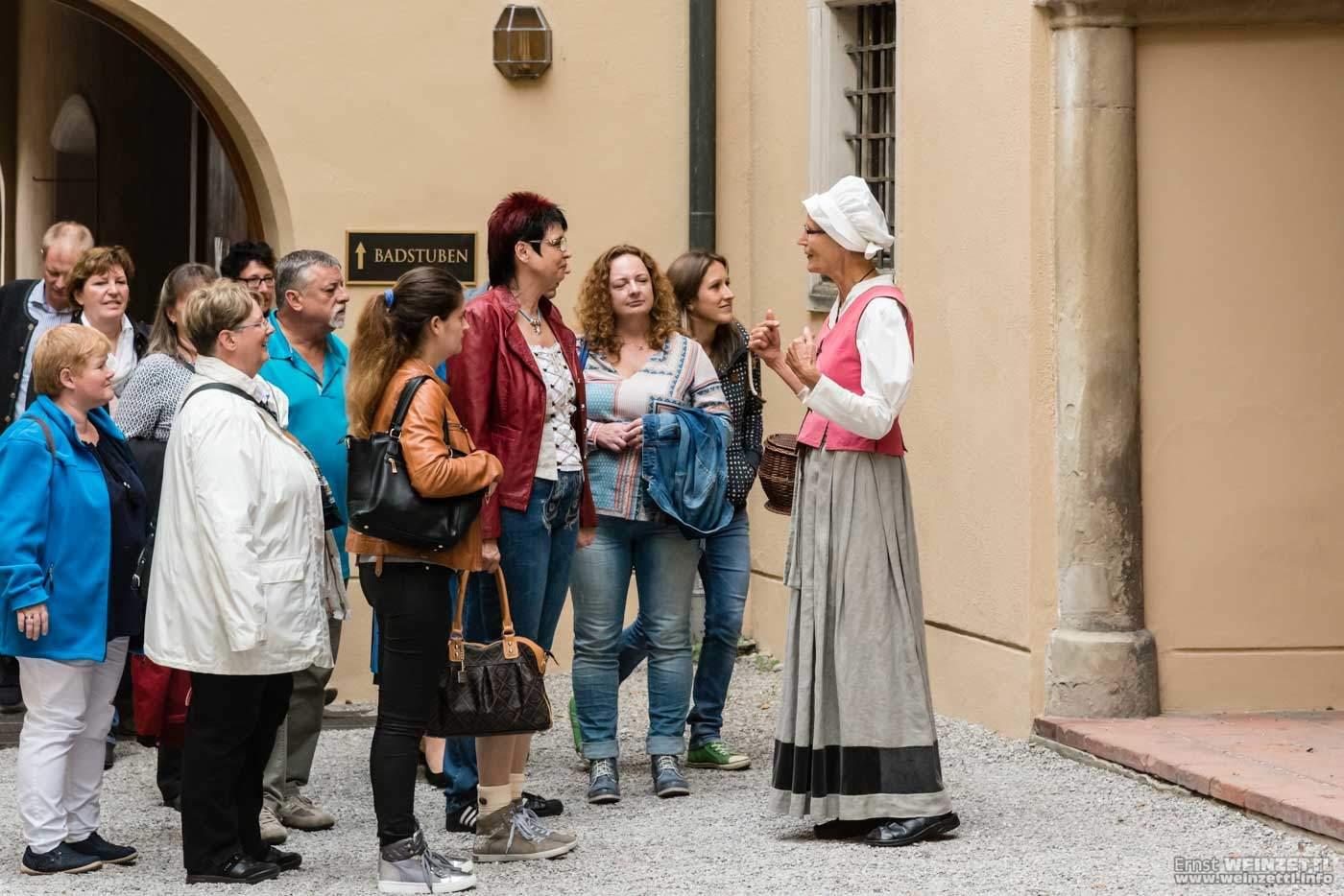 Führung im Renaissance-Kostüm
