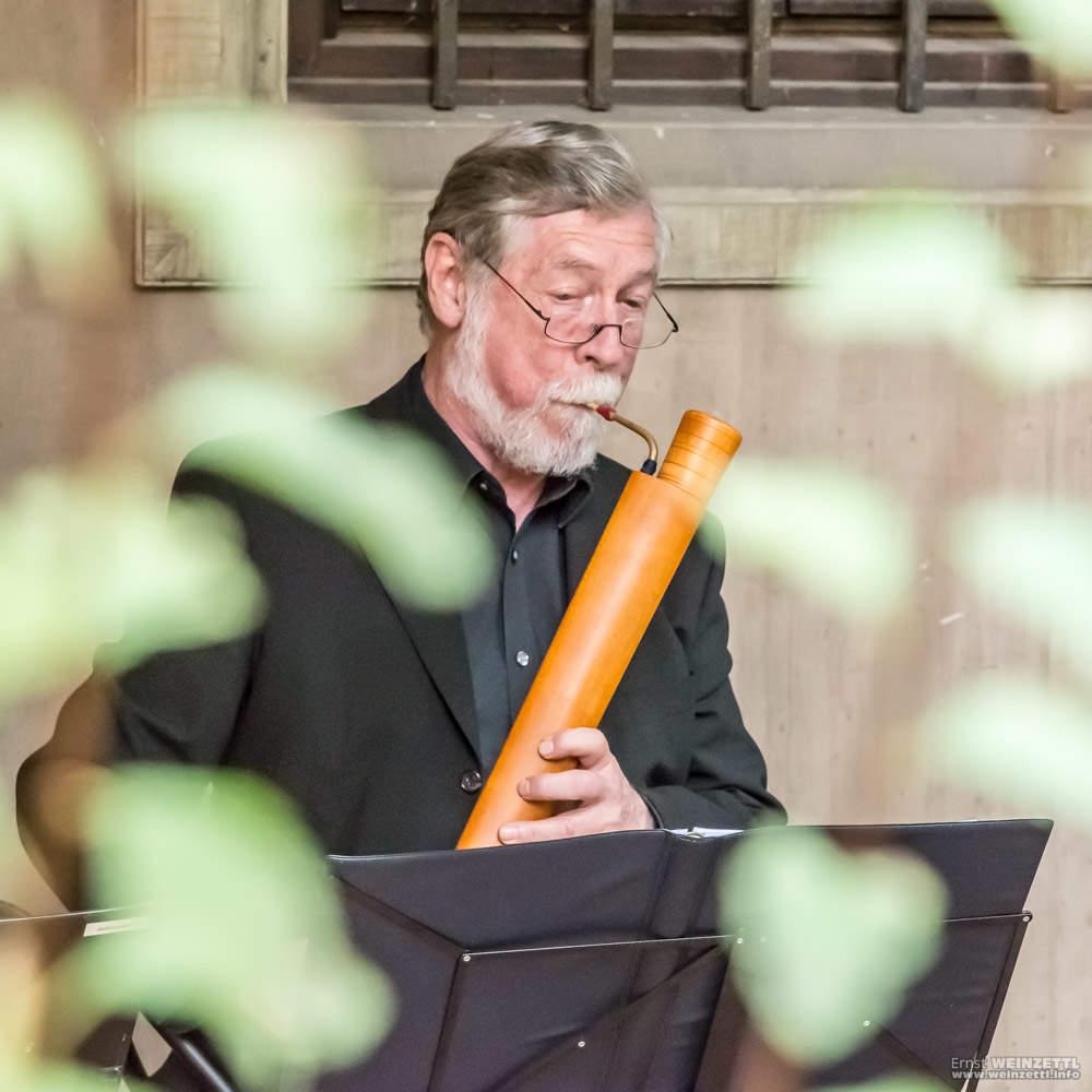 Renaissance-Musik im Innenhof