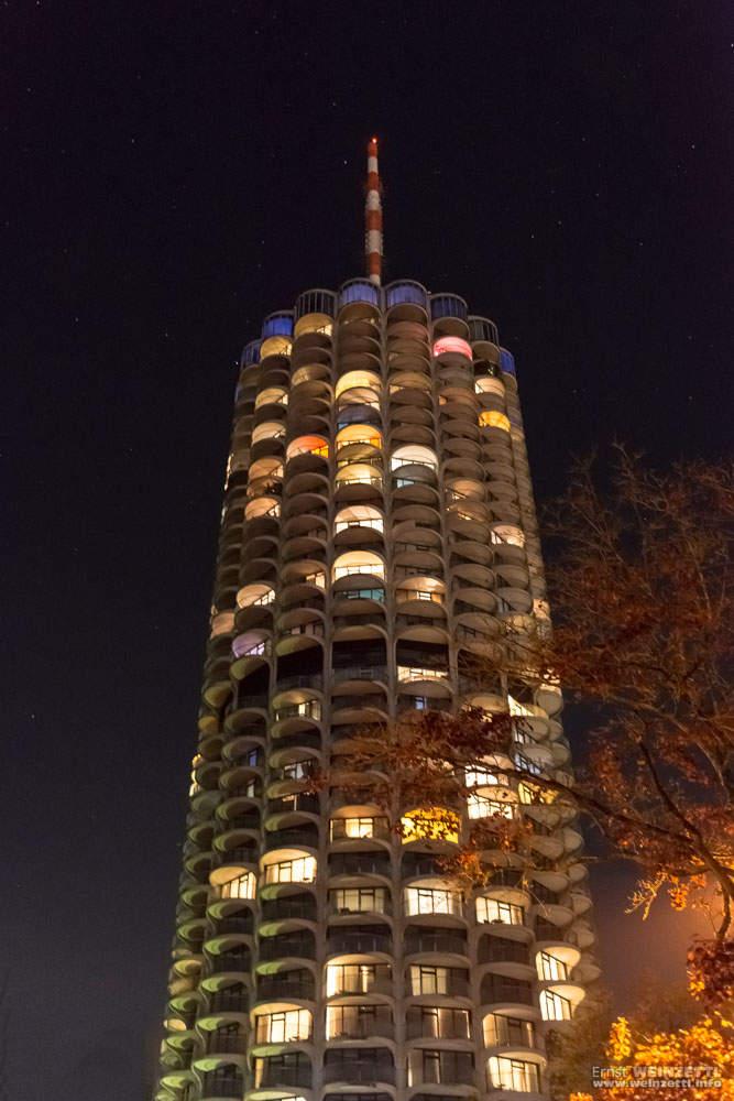 Hotel Dorint bei Nacht