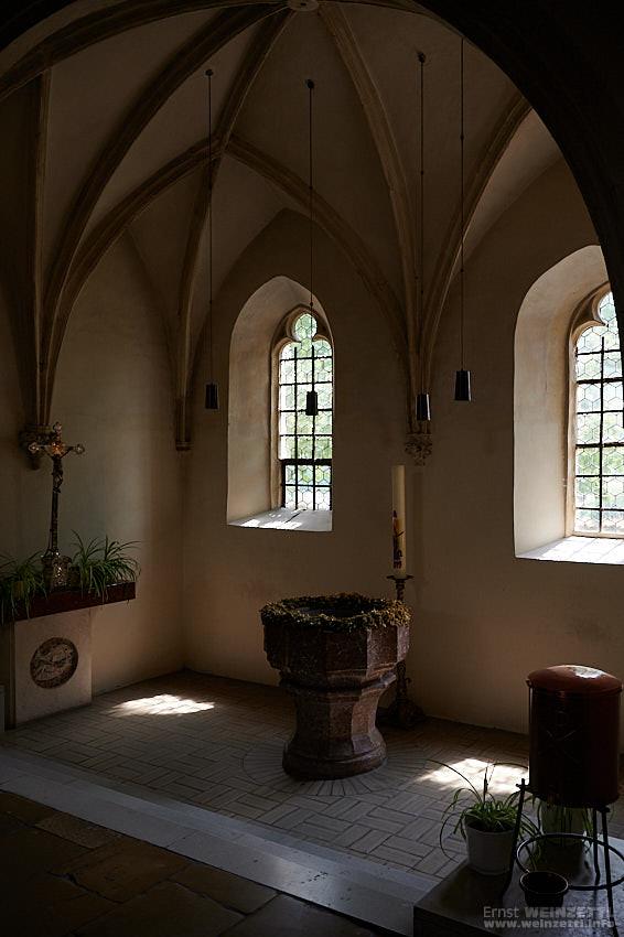 Kirchen in Weißenkirchen, innen.