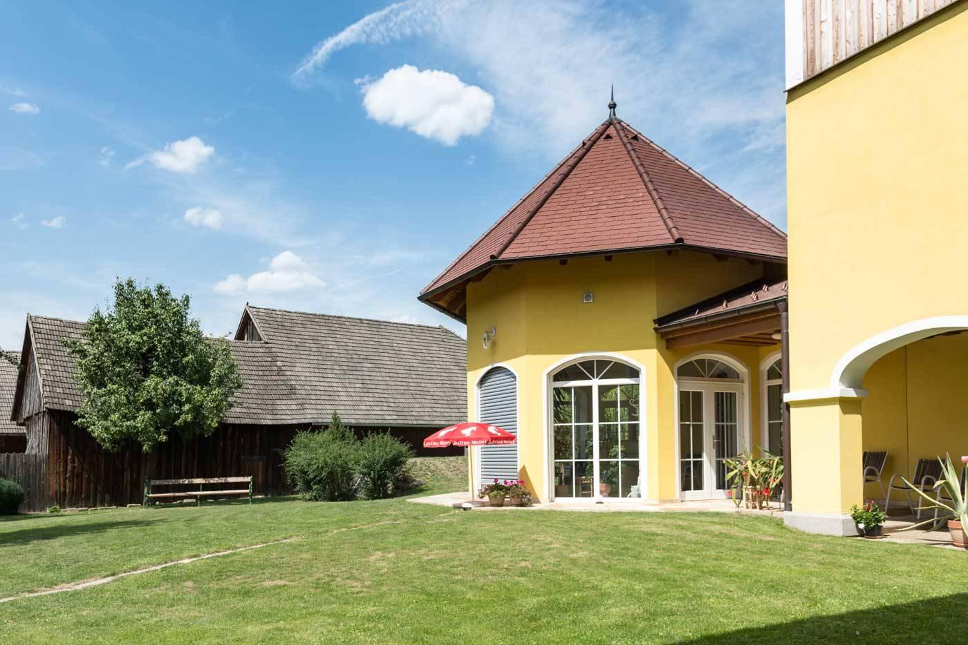 Der Huber in Rastenfeld - Innenhof