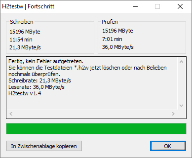 MeZmory USB 3.0 Stick neu an USB 2.0