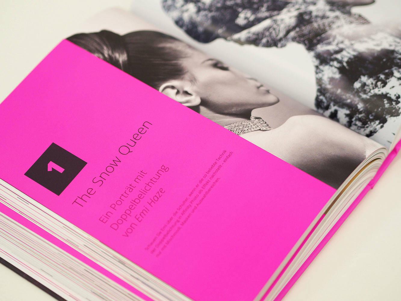 "Affinity Photo WorkBook Projekt ""The Snow Queen"""