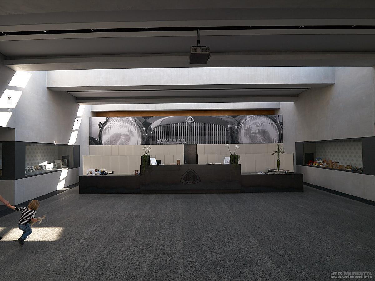 Maybach Museum, Empfangsraum