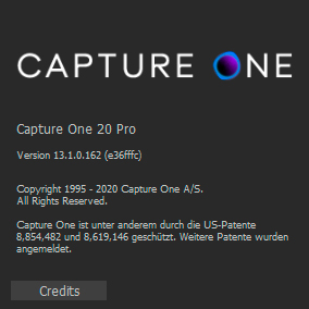 Capture One Pro 20