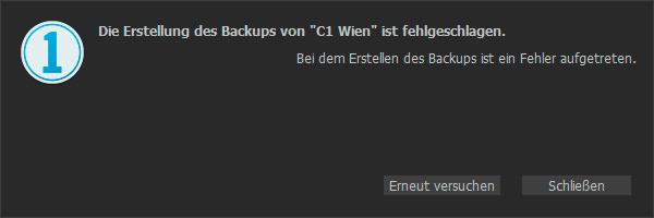 Capture One Backup Error